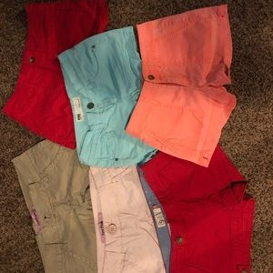 Kohl's colored shorts